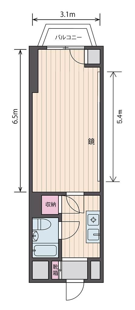 新大阪店間取り図